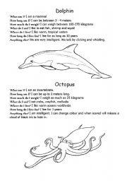 English Worksheets: Sea life