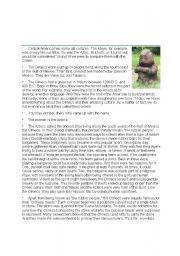 English Worksheets:  The Olmecs
