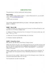 English Worksheets: money changers