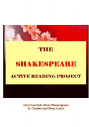 English Worksheet: TALES FROM SHAKESPEARE - active reading workshop based on Lamb´s stories