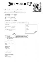 English Worksheet: Wka Waka - Shakira�s song
