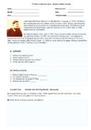 English Worksheets: BLANES LIFE