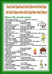 Groovy English Teaching Worksheets Future Perfect Continuous Easy Diy Christmas Decorations Tissureus