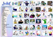 English Worksheet: JOBS: PART 3/4 (O-S)