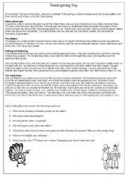 Thanksgiving day esl worksheet by sabinita english worksheet thanksgiving day ibookread Download
