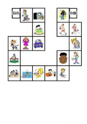 English teaching worksheets: Action verbs