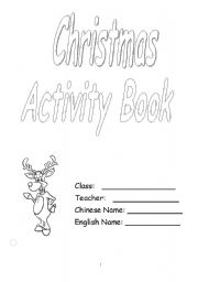 English Worksheets: chrisrmas book