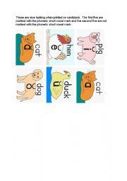 English Worksheets: flash-cards