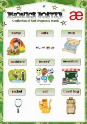 English Worksheets: PHONICS POSTER 5