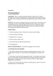 English Worksheets: Round Robin Writing