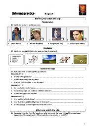 English Worksheets: FILM worksheet: