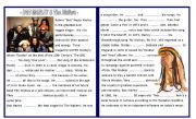 English Worksheet: Bob Marley & The Wailers - Biography -
