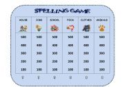English Worksheets: SPELLING COMPETITION