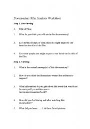 erin brockovich worksheet