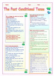 THE PAST CONDITIONAL TENSE WS