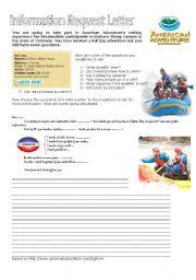 English Worksheets: Information Request Letter