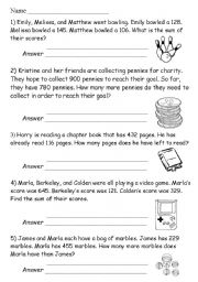math worksheet : english worksheet math word problems : Math Story Problems Worksheets