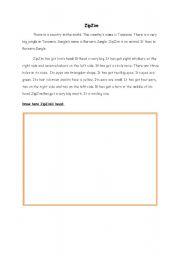 English Worksheets: ZipZim