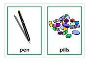 English worksheet: Let´s Go Phonics, level 1 flashcards - SET 1 - p, b, t, v, f