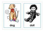 English worksheet: Let´s Go Phonics, level 1 flashcards - SET 2 - d, h