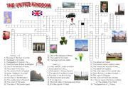 English Worksheet: The United Kingdom
