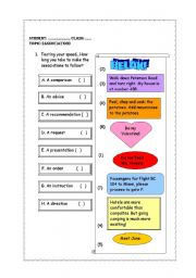 English Worksheets: Association