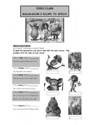 English Worksheet: MADAGASCAR