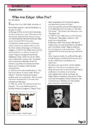 Who was Edgar Allan Poe Biography