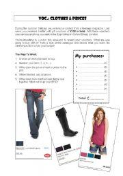 Clothes & shopping behaviour