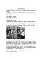 English Worksheets: Human Knot Unraveler