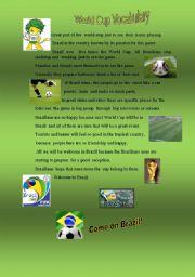World Cup -Vocabulary