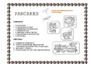 English Worksheet: Pancakes for cooking class