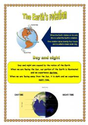 Earth Rotation Activities
