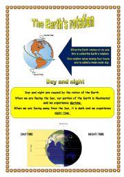 the earth s rotation esl worksheet by mariola pdd. Black Bedroom Furniture Sets. Home Design Ideas