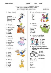2nd paper primary stdiv term test