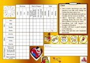 logic game 4 - next week´s horoscope