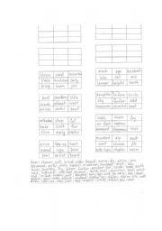 English Worksheets: BingoWordGame