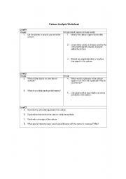 English worksheets: political cartoon analysis worksheet example