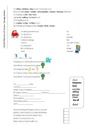 English Worksheet: Lemon Tree - Listening Activities