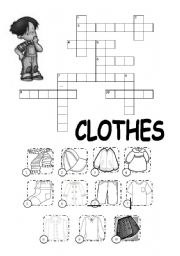 Crosswords on Clothes