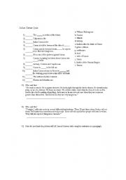 Worksheets Julius Caesar Worksheets julius caesar worksheets for teachers intrepidpath english quiz