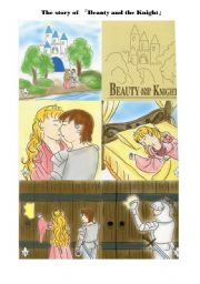 English Worksheets: Beauty and the Knight
