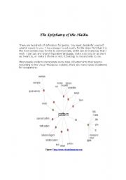 English Worksheet: The Epiphany of the Haiku