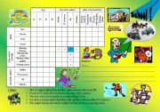 logic game 7 - school