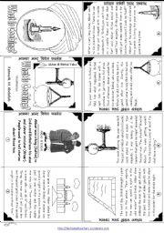 English Worksheet: Akbar & Birbal Tales: What is Cooking?