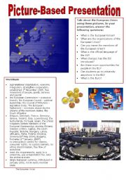 Picture-based Presentation - The European Union