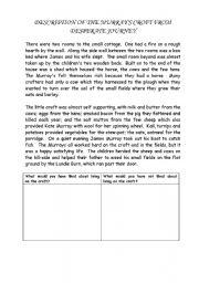 English Worksheets: Highland clearance