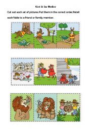 Gratifying image pertaining to aesop's fables printable