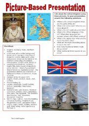 English Worksheet: Picture-based Presentation - The United Kingdom