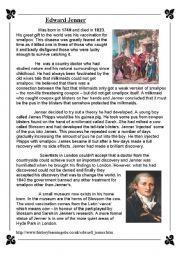 English Worksheets: Edward Jenner